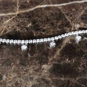 Jewelry - CZ and .925 silver bracelet